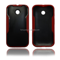 Middle PC and TPU frame Bumper for Moto E cellphone protecter