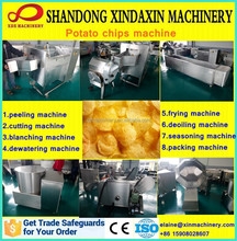 Complete line automatic potato chips making machine for sale