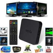 MXQ Hot Sale Smart TV Box Pre-Installed Latest Xbmc 4 Kodi Fully Loaded Android TV Box Amlogic S805 Quad Core Mxq Ott TV Box