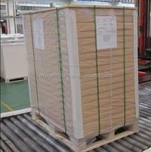 solid bleached hi-bulk board for food packing