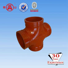 Chinese grooved coupling cross for water link system