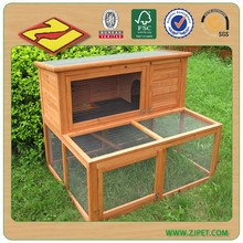 2 story rabbit hutch with run DXR022