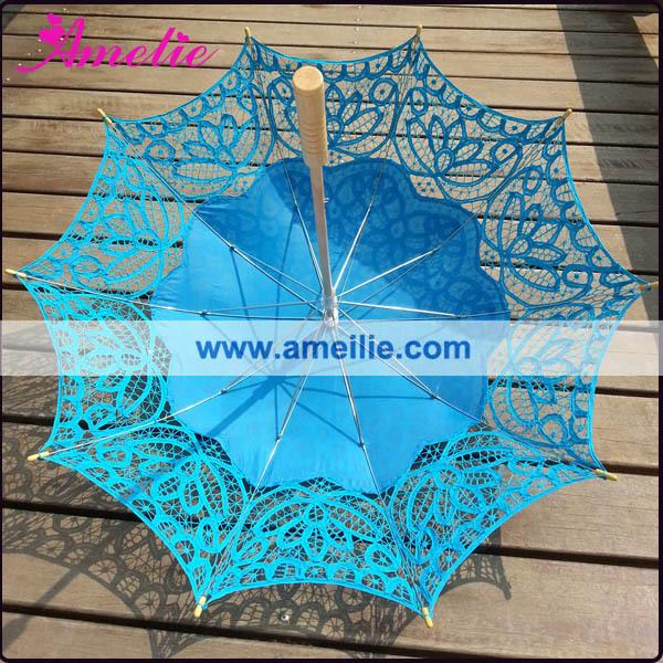 A0104 Royal blue lace parasol (1).jpg