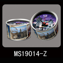 homedecor fridge magnet tin can clock in can small manufacturing machines