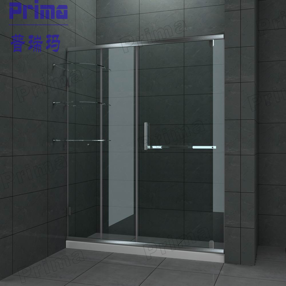 High Grade Stainless Steel Glass Shower Enclosure Glass Shower Enclosure With Stainless Steel