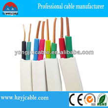 BVVB twin flat cable, electrical wire,China manufacture