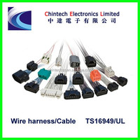 car alarm wire harness with jst shr connector