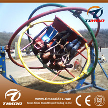 Exciting amusement rides gyroscope children games gyroscope/ human gyroscope for sale