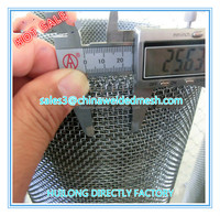 High tensile stainless steel crimped wire mesh for mining sieve