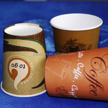 hot drink water paper cup, paperr coffee cups, carton raw materials