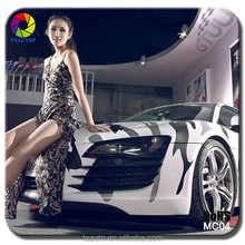 TSAUTOP Very Cool Snow Camo car decoration white camouflage car vinyl film