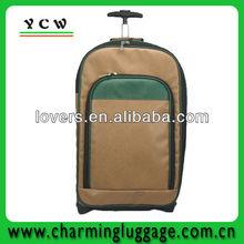 2012 fashion pu airport luggage trolley wheel