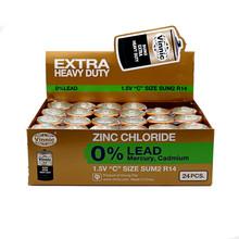 0% Lead Zinc Chloride Dry Battery size C