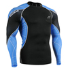 New Design Long Sleeves Cycling Yoga Multi-USE Tight-fitting Wear Compression Apparel Skinny Clothes For Men