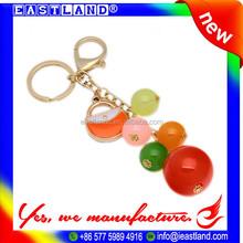 Customized Promotion Personalized Beaded Keychains