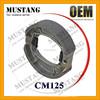 Motorcycle Brakes Parts Motorcycle Kick Starter,Brake Shoe,Brake Pad CM 125(OEM quality /Made in China