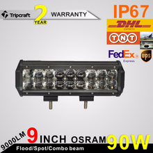 Super bright!new products! auto parts 4x4 accessories 4D led car headlight 9inch 90w led driving light front head lamp