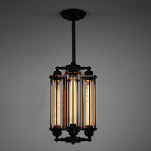 Edison Bulb Industrial Vintage 4 Lights Pendant Lamp/Hanging Lighting