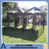 2015 China supplier and high quality dog kennel wholesale/iron fence dog kennel