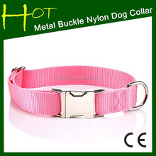 Plain Nylon Dog Collars Western style Dog Collar&Leashes For Your Pet
