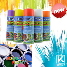 2014 450ml Hot Sale Magic Car Care Products synthetic rubber coating spray