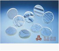 0.55mm 0.65mm led glass borosilicate glass