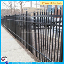 decorative fencing/wrought iron fencing lowes/metal fencing pricing factory