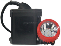 ATEX rechargeable LED mining cap lamp two lighting modes main and auxiliary lights safe and durable