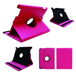Russia Market PU Lychee Leather Purple for ladies unbreakable protective case for iPad Pro 12.9