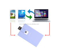 business card shape Android OTG 2.0 USB Flash Drive Connect protable Smart USB