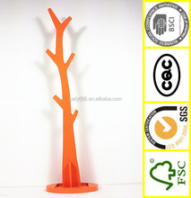 kids/ adult bedroom furniture wooden stand single rod clothes hanger