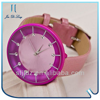 2013 NEW round Style women fashion hand watch 3 atm stainless steel back watch