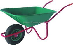Europe model with plastic tray and good quality wheel barrow WB4029