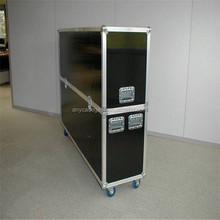 A prueba de fuego plasma LCD tv pantalla protectiive caso en industrail material