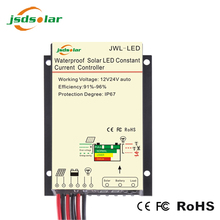 LED dimmer + timer and light control manual PWM 10amp 12V solar street light charge controller