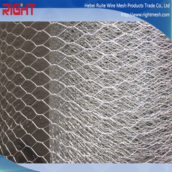 Quality Products Hexagonal Wire Mesh Roll, Dark Green Coated Hexagonal Wire Mesh
