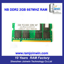Electronic part full compatible ETT original chips ddr2 2gb ram mobile phones