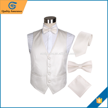 slim or tailored fit waistcoat suit for men