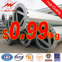 steel power transmission line equipment pole