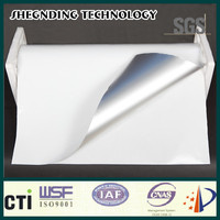 Insulation! Quick sticking White coated release paper White Aluminum Foil Cladding
