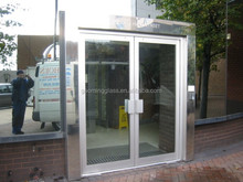 Alibaba golden supplier for 11 years china double glazing glass door price with high quality GM-C424
