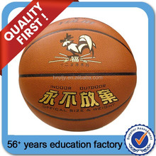 Moisture Absorbing PU Leather with 12 panels BASKETBALL
