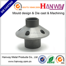 China manufacturer precision CNC machining aluminum die casting auto chassis parts