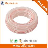 1/4'' PVC fiber reinforced hose PVC braided hose