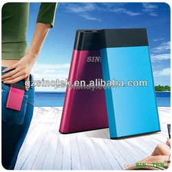 SINOTEK 6500mah Corporate Gift Power Bank, Logo Power Bank, Customized Portable Power Charger