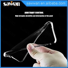 0.5mm High Clear silicone TPU phone case for iPhone 6