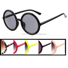 2015 round sunglasses ,hot sell plastic sunglasses , wholesale oem sunglasses/round eyewear