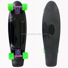 Banana Skateboard/ Cruiser Board, Plastic Skateboard
