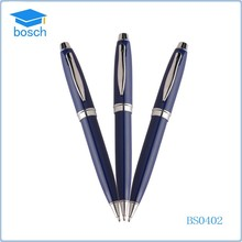 2015 high quality metal pen office stationery luxury blue pens