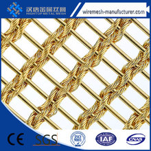 ( Trade Assurance)Decorative Wire Mesh for Curtain Wall Construction